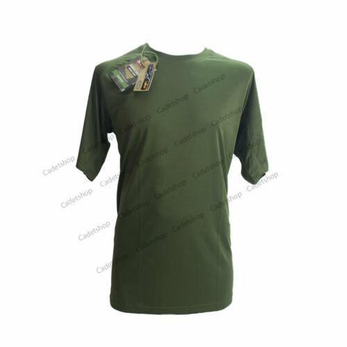 HUSS Quick Dry Military Under Shirt Olive