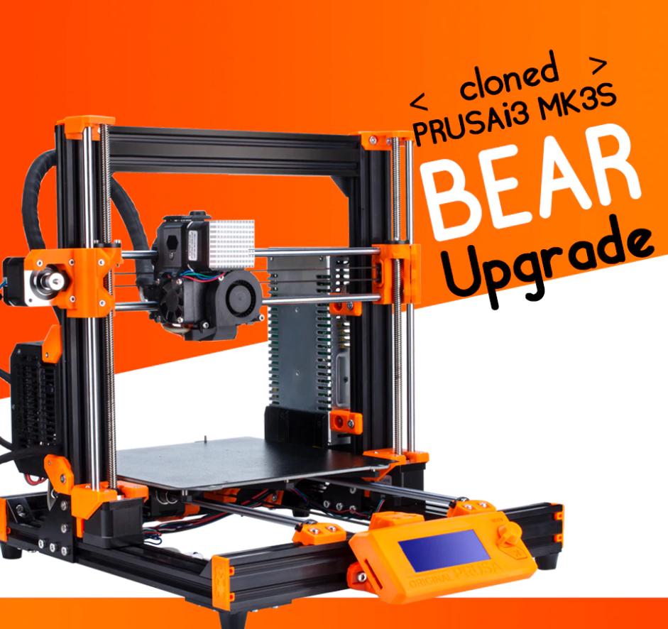Clone Prusa I3 MK3S BEAR full kit