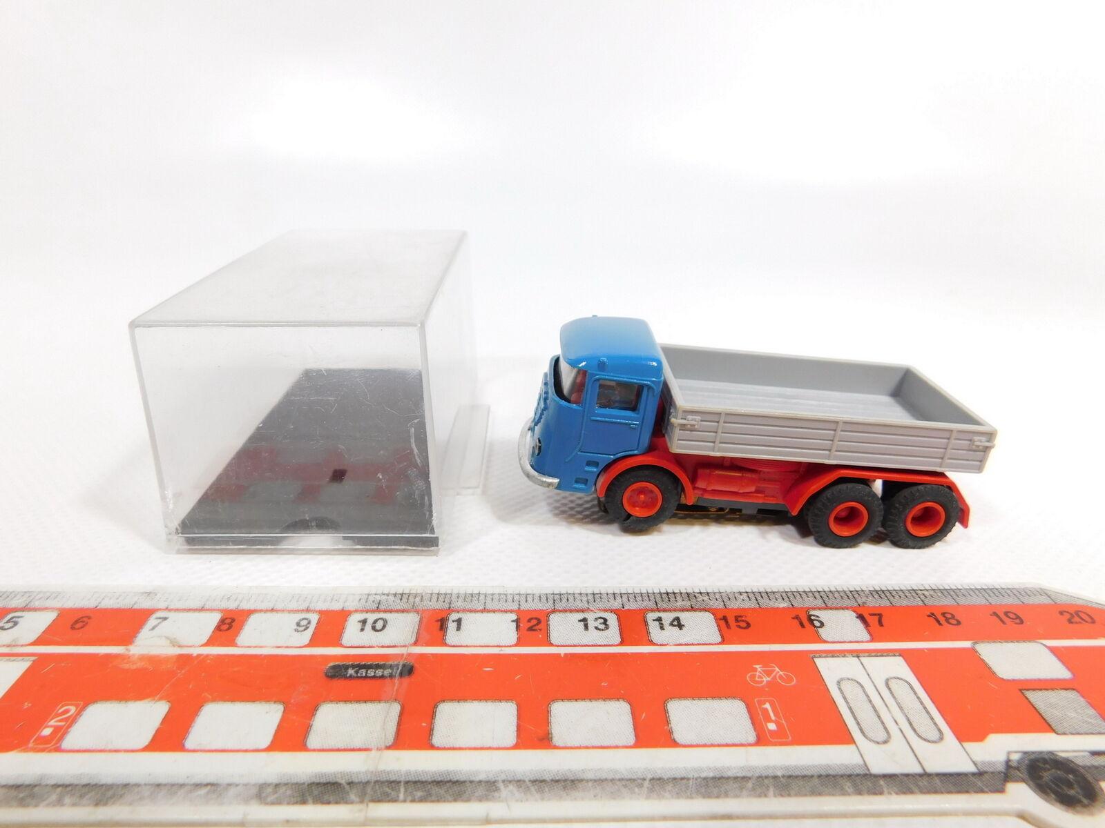 CG288-0,5   Faller Ams   Auto Motor Deporte 4871 Camión Büssing,Grifo rojoa + Box