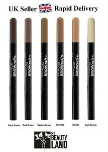 Maybelline Brow Satin Eye Brow Duo Pencil & Filling Powder Liner - All Shades