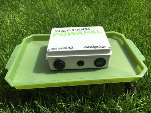powapal mk1 12v portable power station for carp fishing bivvy power pack mobile