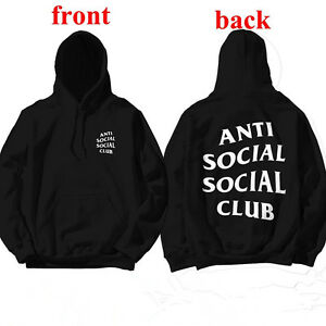 87708c2e14d5 Image is loading Anti-Social-Club-Hoodie-Inspired-Kanye-West-Sweatshirts-