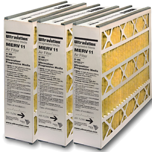 Tier1 16x25x5 Merv 8 Replacement for Ultravation #91-005 Air Filter 2 Pack
