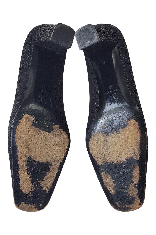 BRUNO MAGLI MAGLI BRUNO BLACK TEXTUROT COURT Schuhe (39) eabd29
