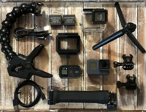 GoPro-HERO5-Black-Camera-HD-4K-CHDHX-501-Hero-5-SuperSuit-3-Way-Arm-Jaws-Clamp
