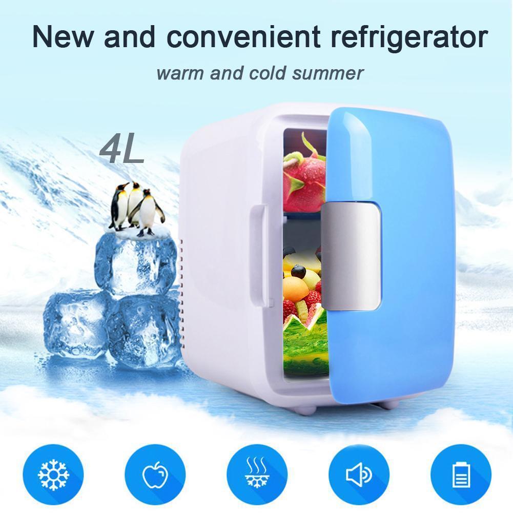 Mini Kühlschrank Kühlbox Kühltasche für Auto KFZ Kühler Wärmer 4L 12V Camping