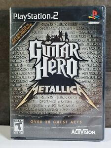PS2-GUITAR-HERO-METALLICA-GAME-BRAND-NEW-SEALED-playstation-2
