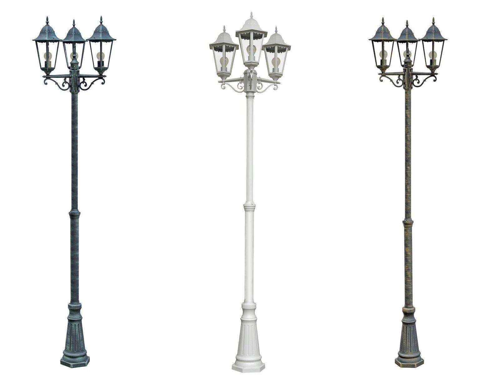 Candelabro Giardino Lampada Lanterna da giardino Lampada Stand Lampada Esterno Giardino In
