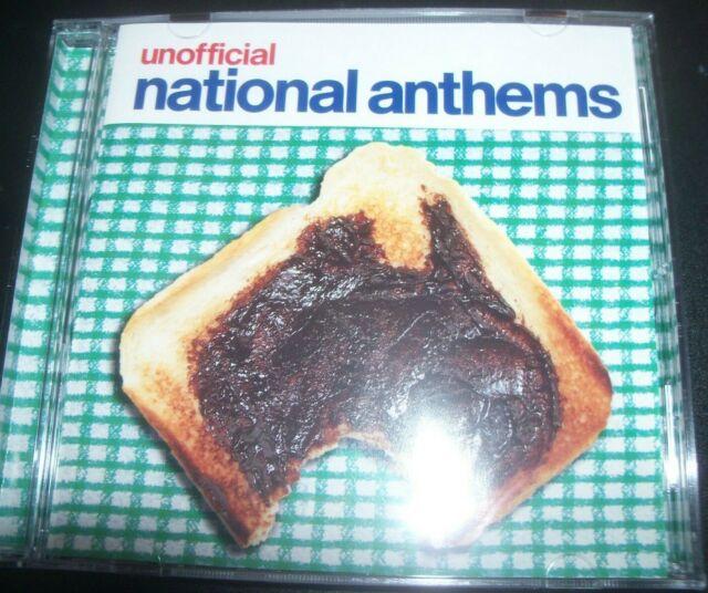 Unofficial Natinal Anthems Various CD Ft Goanna Gangajang The Easybeats Icehouse