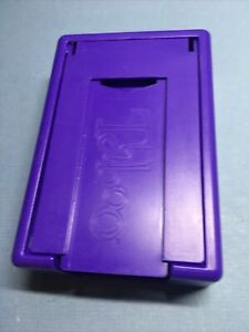 Taboo Board Game Replacement Pieces Parts CARD HOLDER 2000 Purple
