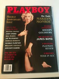 PLAYBOY MAGAZINE JANUARY 1997 MARILYN MONROE NUDE HAS CF