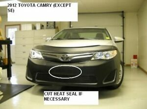 Lebra Front End Mask Cover Bra Fits 2012 2013 2014 12 13 14 Toyota Camry SE only