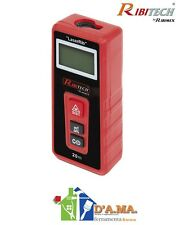 Metro laser telemetro digitale misurazione da cm 5 - 20 metri ribitech ribimex