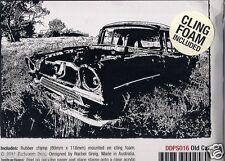 Darkroom Door opaque rubber stamp OLD CAR PHOTO STAMP  12x8cm DDPS016