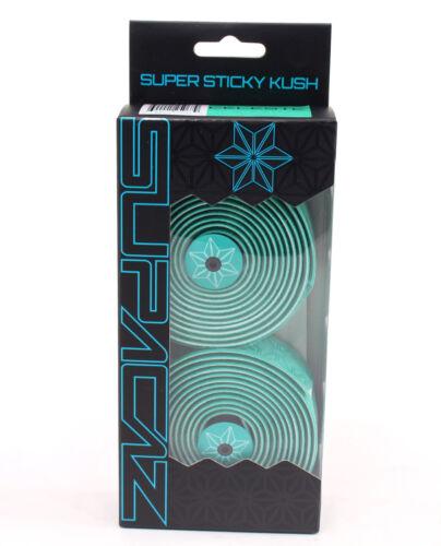 2018 SUPACAZ Super Sticky Kush Bar Tape Single Color handlebar tape// AQUA