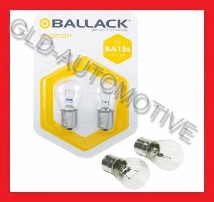 Lampadina Auto BA15S  P25 12V 18W BALLACK  Originale a filamento omologate