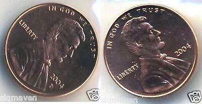 2004 P /& D Lincoln Cent Set Gem Bu From Mint Sets