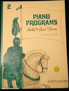 PIANO PROGRAMS WALTER /& CAROL NOONA BOOK 2 M-6