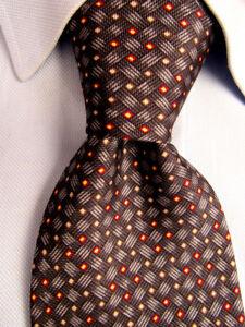 Men-039-s-Joseph-Abboud-Black-Silk-Tie-Made-in-Italy-A28191