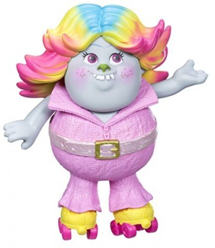 Trolls Movie Figure Doll Skates Collectibles Kids New Bridget Character Toy