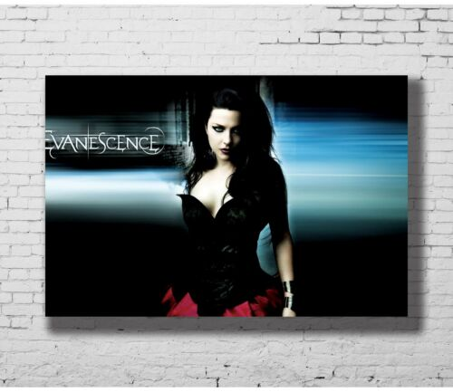 Hot Gift Poster Evanescence Music 40x27 30x20 36x24 F-3119