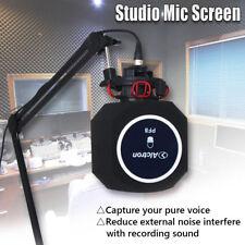 Studio Mic Screen Acoustic Filter Desktop Recording Microphone Wind Screen