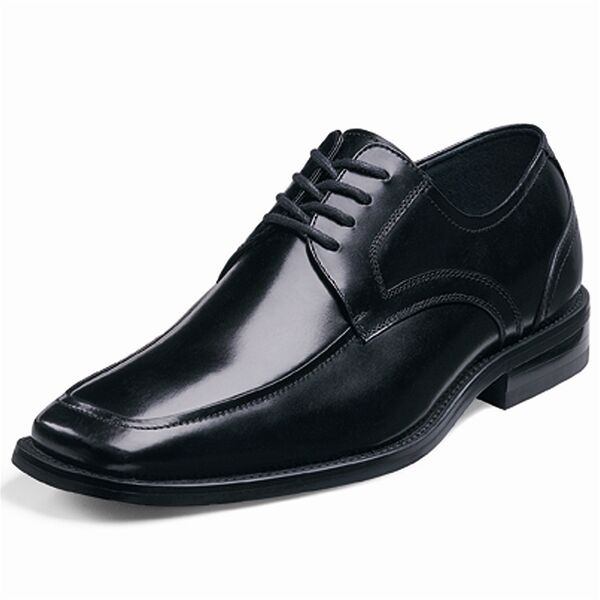 Zapatos Zapatos Zapatos de Cuero Stacy Adams Para hombres Forrest Encaje-Ups 20114-001 5f5f18
