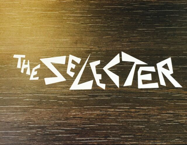 The Selecter Sticker White Vinyl Cut Out Decal Ska 2 Tone SS5