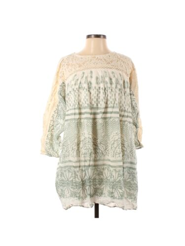 Free People Women Ivory Casual Dress S - image 1