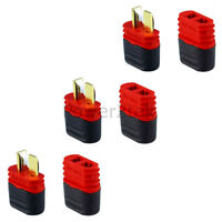 3-pair Amass Sheathed T-Plug Dean Male & Female Connectors for RC Lipo Battery