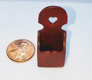 Casa-de-Munecas-Miniatura-Handmade-Mail-Soporte-Buzon-Estante-Rojo-1-12