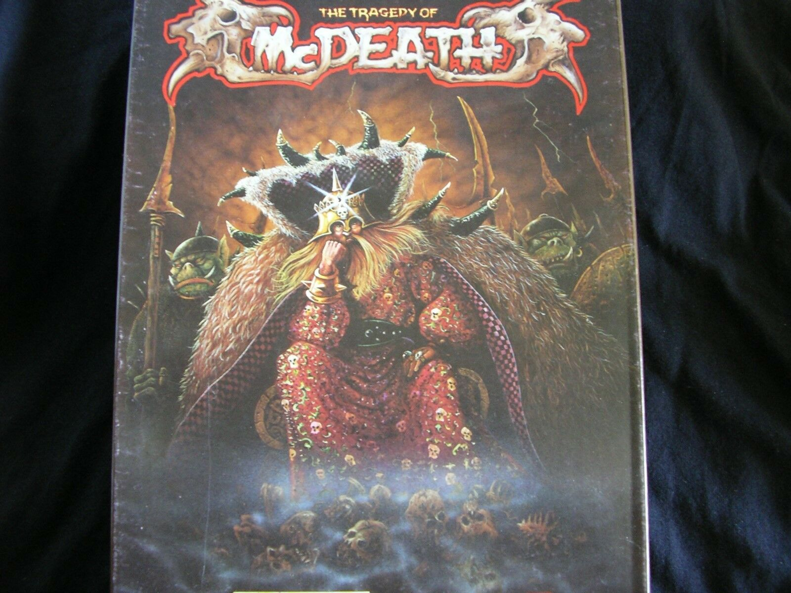 THE TRAGERTY OF McDEATH GAMES GAMES GAMES WORKSHOP WARHAMMER CAMPAIGN 1ce48e