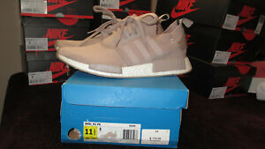 59a482ac8 ADIDAS NMD R1 PK NMD FRENCH BEIGE PRIMEKNIT SHOES SIZE 11.5 MENS ...