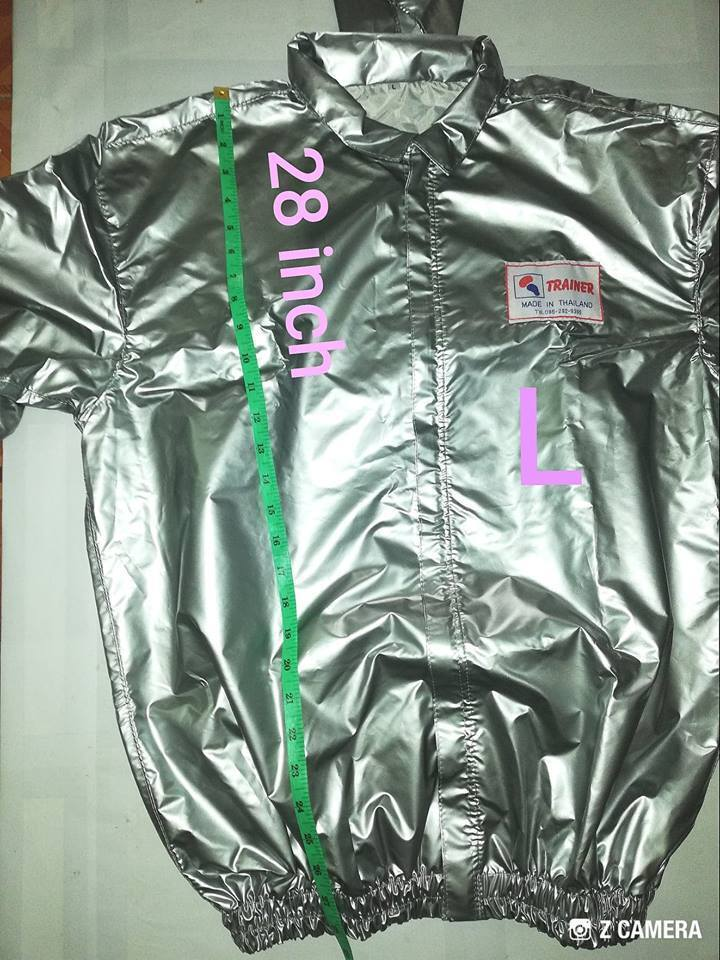 Sauna Suit(Sweat)muay thai boxing Fitness Weight Loss Exercise Gym Train Size L