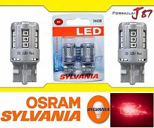 Sylvania Premium LED light Bulb 7443 Red Brake Stop Front Rear Signal Upgrade