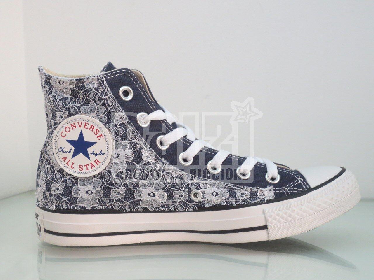 Converse blu all star pizzo navy blu Converse artigianali 344077