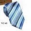 Classic-Red-Black-Blue-Mens-Tie-Paisley-Stripe-Silk-Necktie-Set-Wedding-Jacquard thumbnail 51