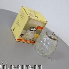 WMF Bowlen Eis Ei Ice Ball Getränkekühler Cromargan Pressglas Vintage 70er Jahre
