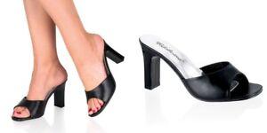 "FABULICIOUS Romance-301 3 1//4/"" Heel Party Prom Bridal Slide Sandal"