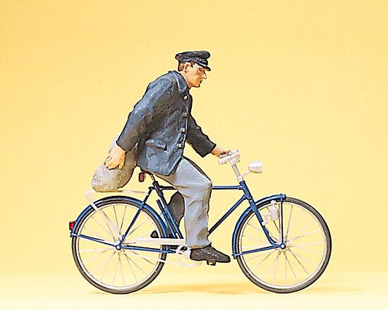 Preiser 45067 1 22.5 G Scale LGB Gauge Farmer On Bicycle - NEW - MIB