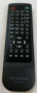 Genuine-original-SYLVANIA-Remote-control-SDVD1602-black-works-well