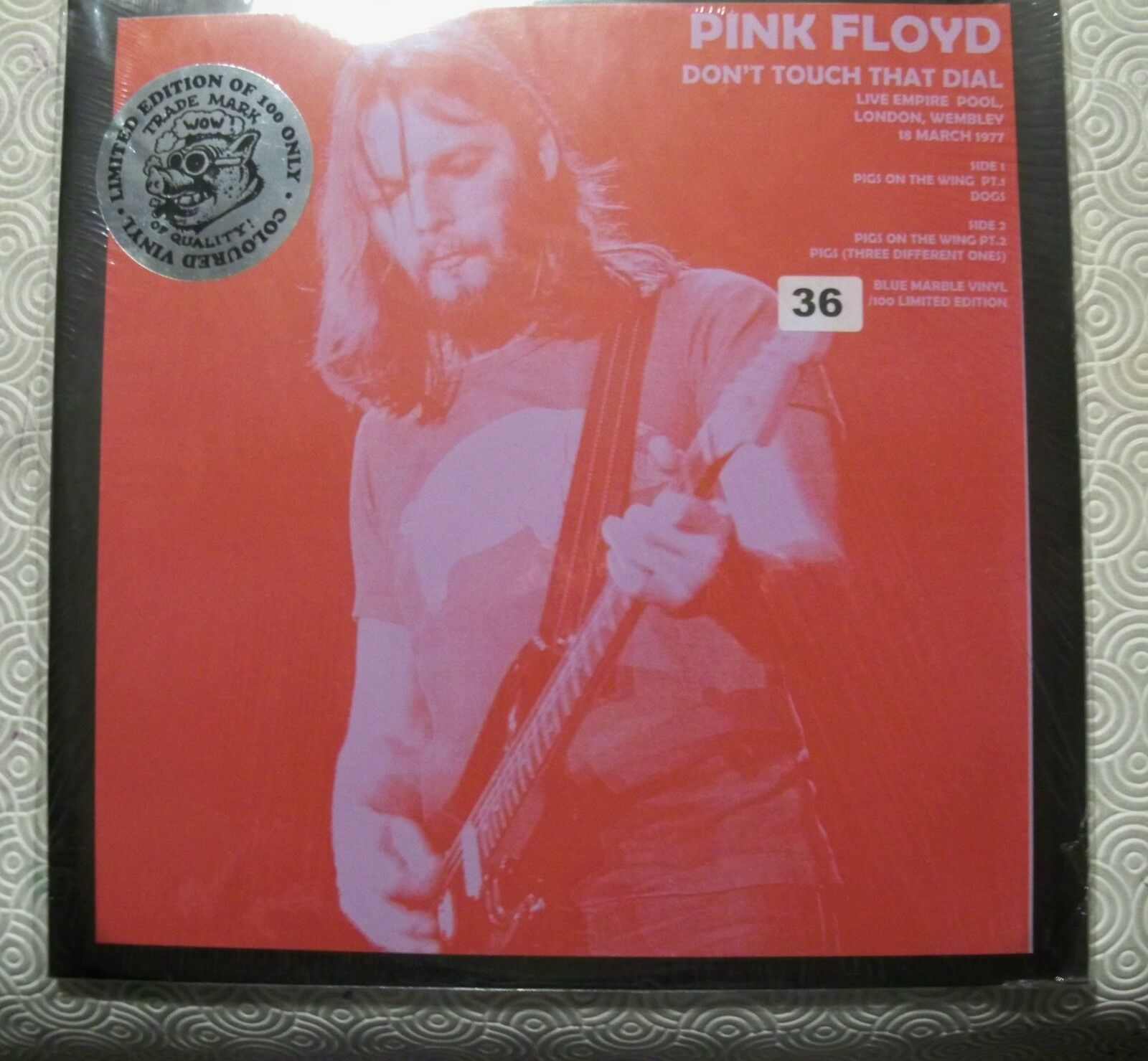 rose FLOYD  DON'T TOUCH THAT DIAL   TMOQ COLOUrouge LP EMPIRE POOL WEMBLEY 1977