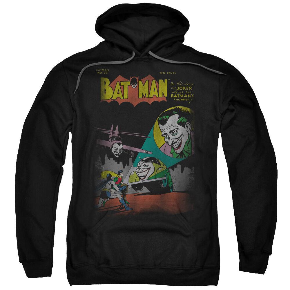 Batman No. 37 Comic Cover JOKER SIGNAL Licensed Sweatshirt Hoodie