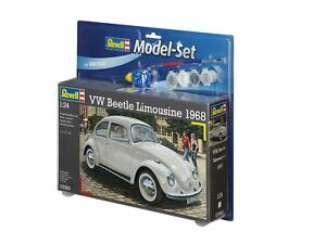 Revell-VW-Beetle-Limousine-68-Modello-Set-1-24-67083
