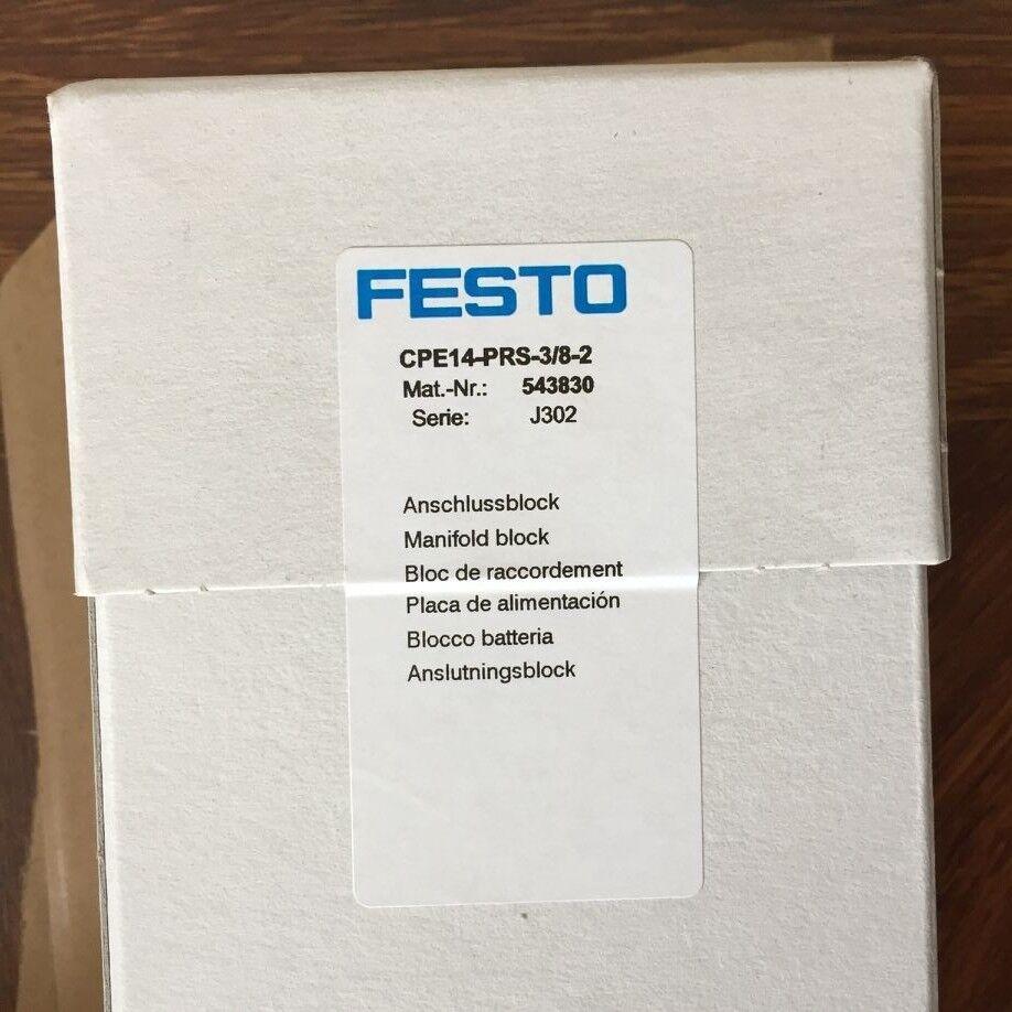 1pcs FESTO CPE14-PRS-3 8-2 543830