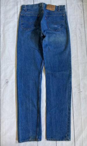Vintage 1990s Levis 501-0113 Made In USA Denim Dis