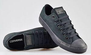 Converse-Chuck-Taylor-All-Star-Ox-Nero-Tela-Sneaker-Scarpe-Da-Ginnastica-M5039C
