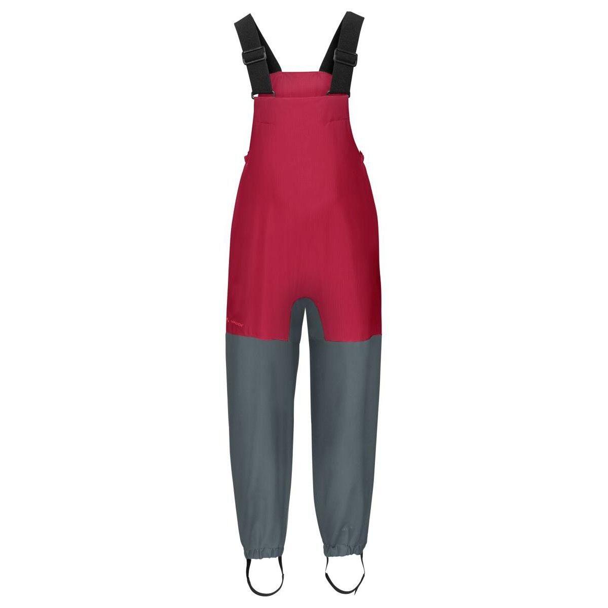 Vaude Kids rojo Owl Pants III niños lluvia pantalones matschhose rojo