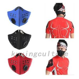 Reusable Anti-Dust Respirator Dust Mask Outdoor Cycling Active Carbon Mask