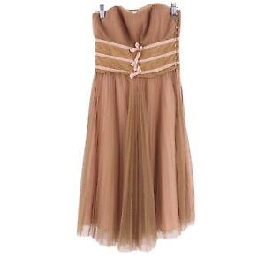 Vintage-Betsey-Johnson-New-York-Label-Size-6-Dress-Lace-Sleeveless-90-039-s